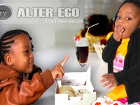 Kids alter-ego photography