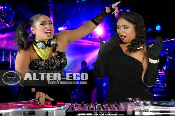 DJ vs Snooty chic alter ego photo